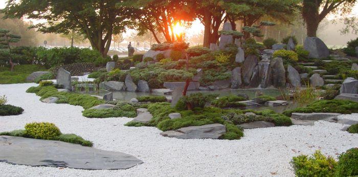 leichtigkeit und tiefe gartengestaltung in friedland g ttingen und umgebung japanischer. Black Bedroom Furniture Sets. Home Design Ideas